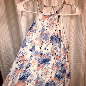 One Clothing Floral Halter Dress